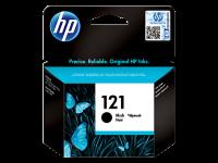 HP 121, Оригинальный струйный картридж HP, черный (CC640HE)