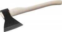 Топор кованый Иж 2072-13 с округлым лезвием и деревянной рукояткой, 1,3кг