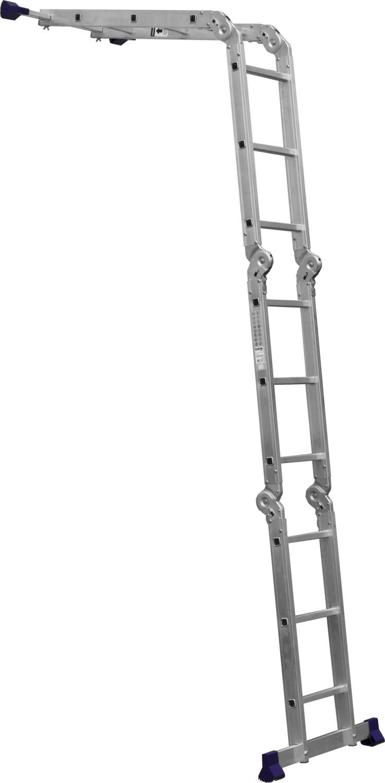 Лестница-трансформер Сибин алюминиевая 38851