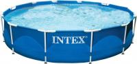 Бассейн на опорах Intex 366х76см с видеоинструкцией