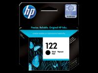 HP 122, Оригинальный струйный картридж HP, Черный (CH561HE)