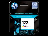 HP 122, Оригинальный струйный картридж HP, Трехцветный (CH562HE)