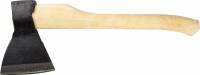 Топор кованый Иж 2072-12 с округлым лезвием и деревянной рукояткой, 1.2кг