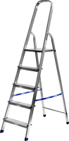 Лестница-стремянка Сибин алюминиевая 38801-5