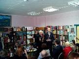 Секретарь Усть-Илимского отделения КПРФ на встрече с автором