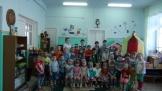 Детский сад Чебурашка  встречает друзей