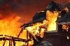 В  Новочунке сгорел жилой дом