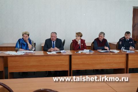Оперативный штаб в Тайшетском районе обсудил меры по противодействию распространению коронавируса