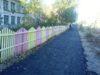 В Лесогорске заасфальтировали тротуар
