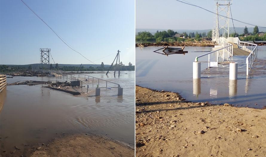 Ремонт моста в Октябрьском обойдется в 3 млн рублей