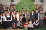 Участники фольклорного часа в МКУК «Межпоселенческая центральная библиотека»