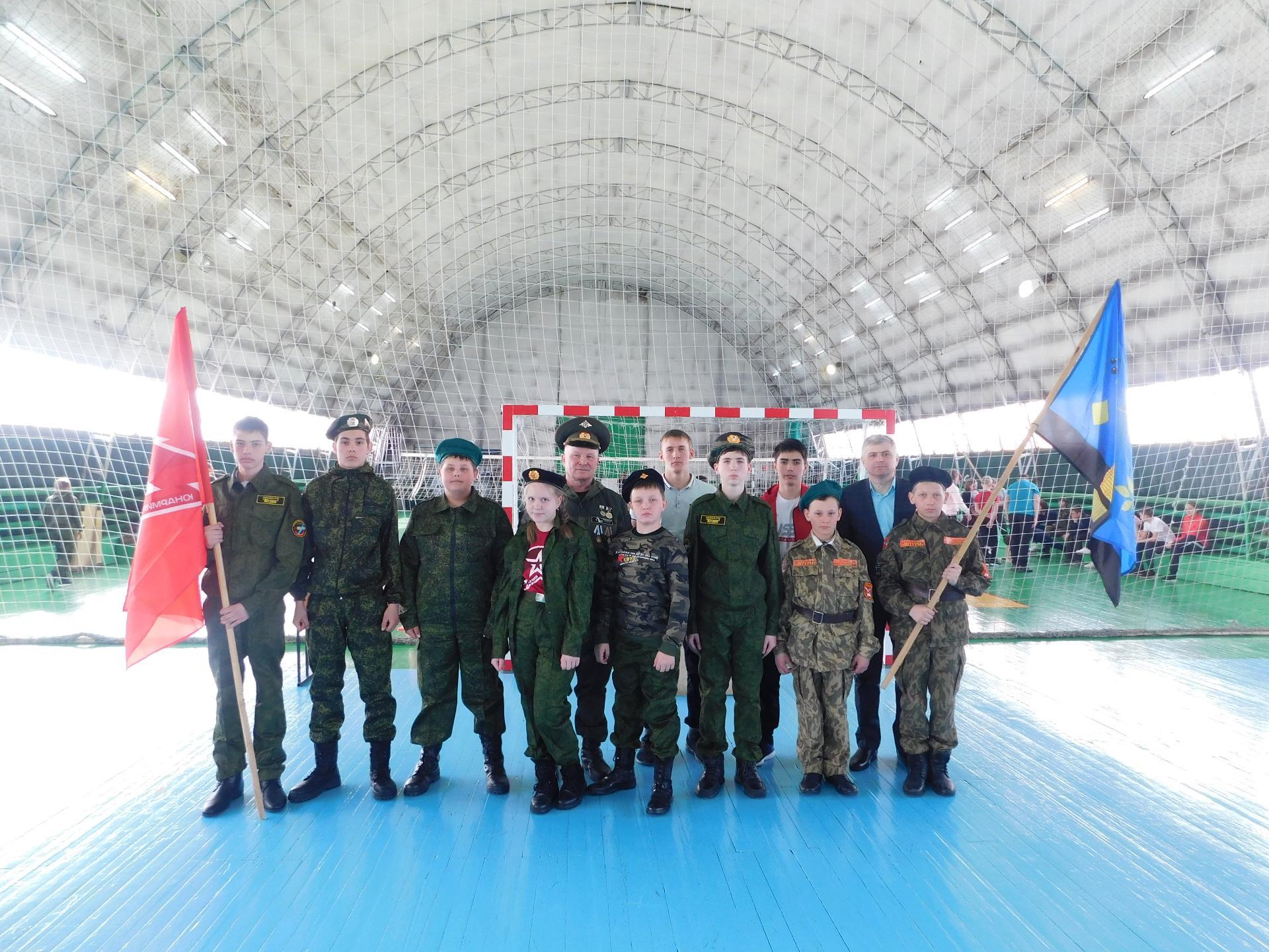 Первые отряды юнармейцев появились в школах района