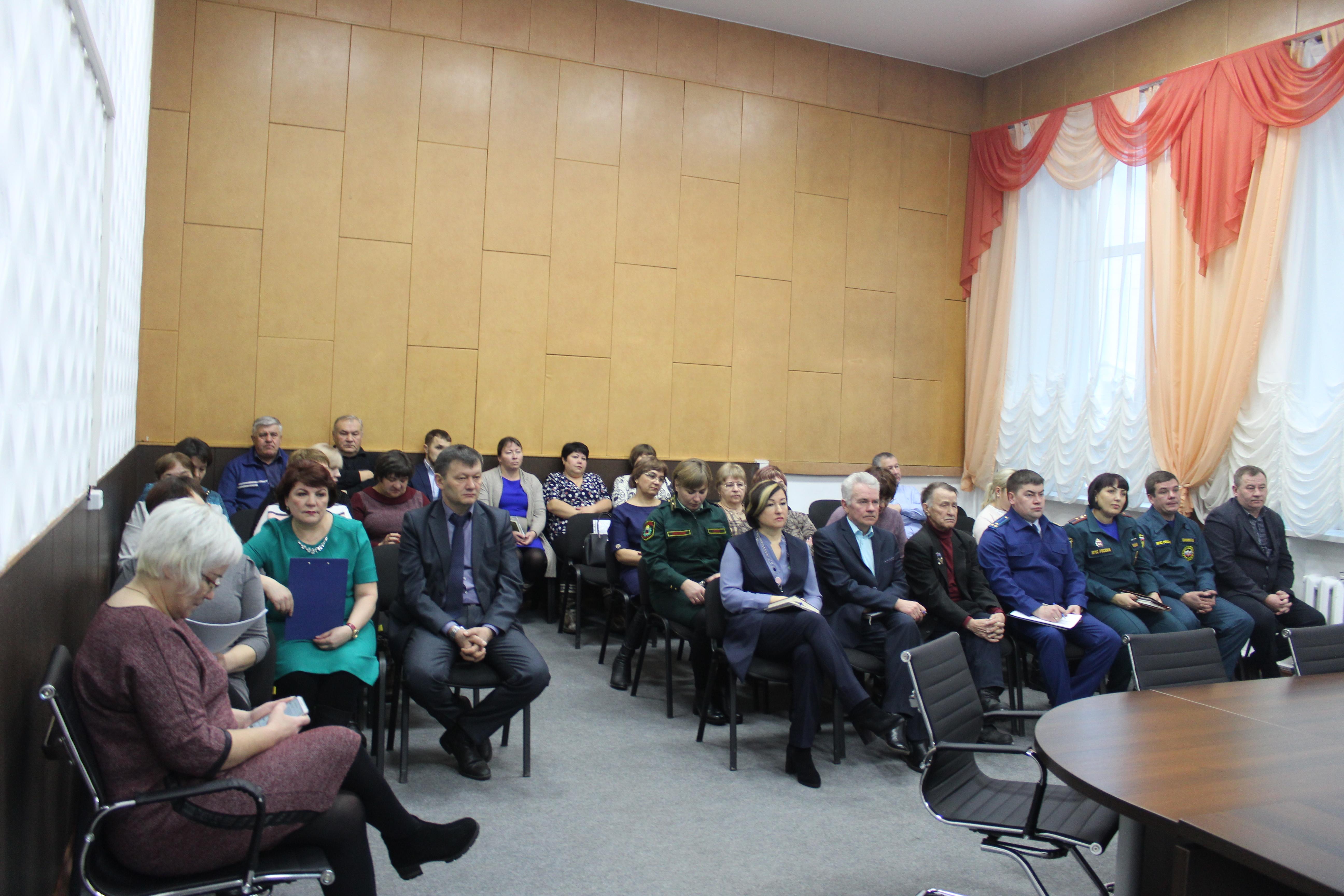 Межведомственное планерное заседание руководителей организаций Качугского района
