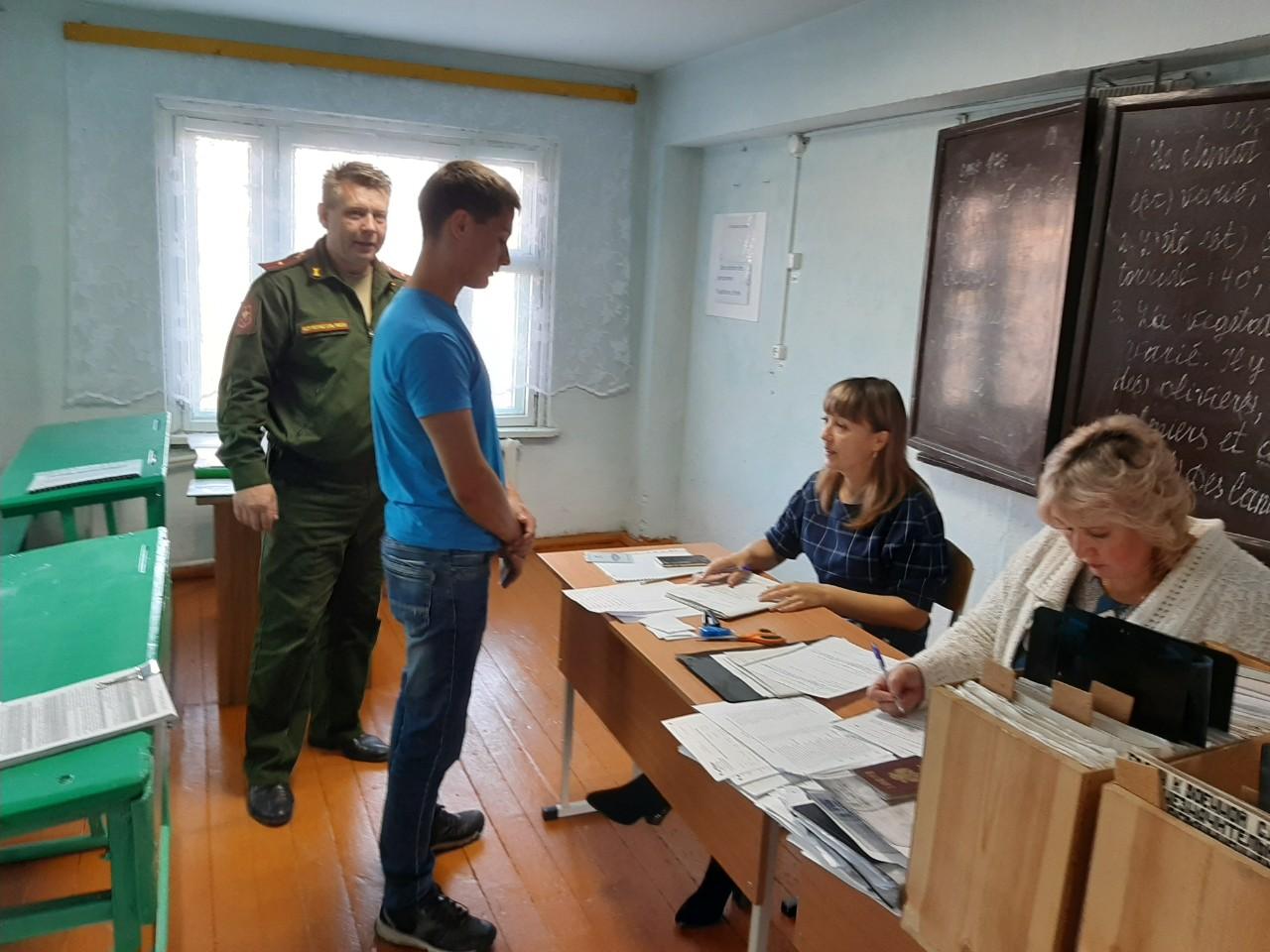 Призывная комиссия 2019 года проходит в Качугском районе