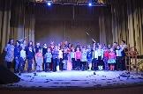 Юные воспитанники РДШИ с артистами Иркутской филармонии