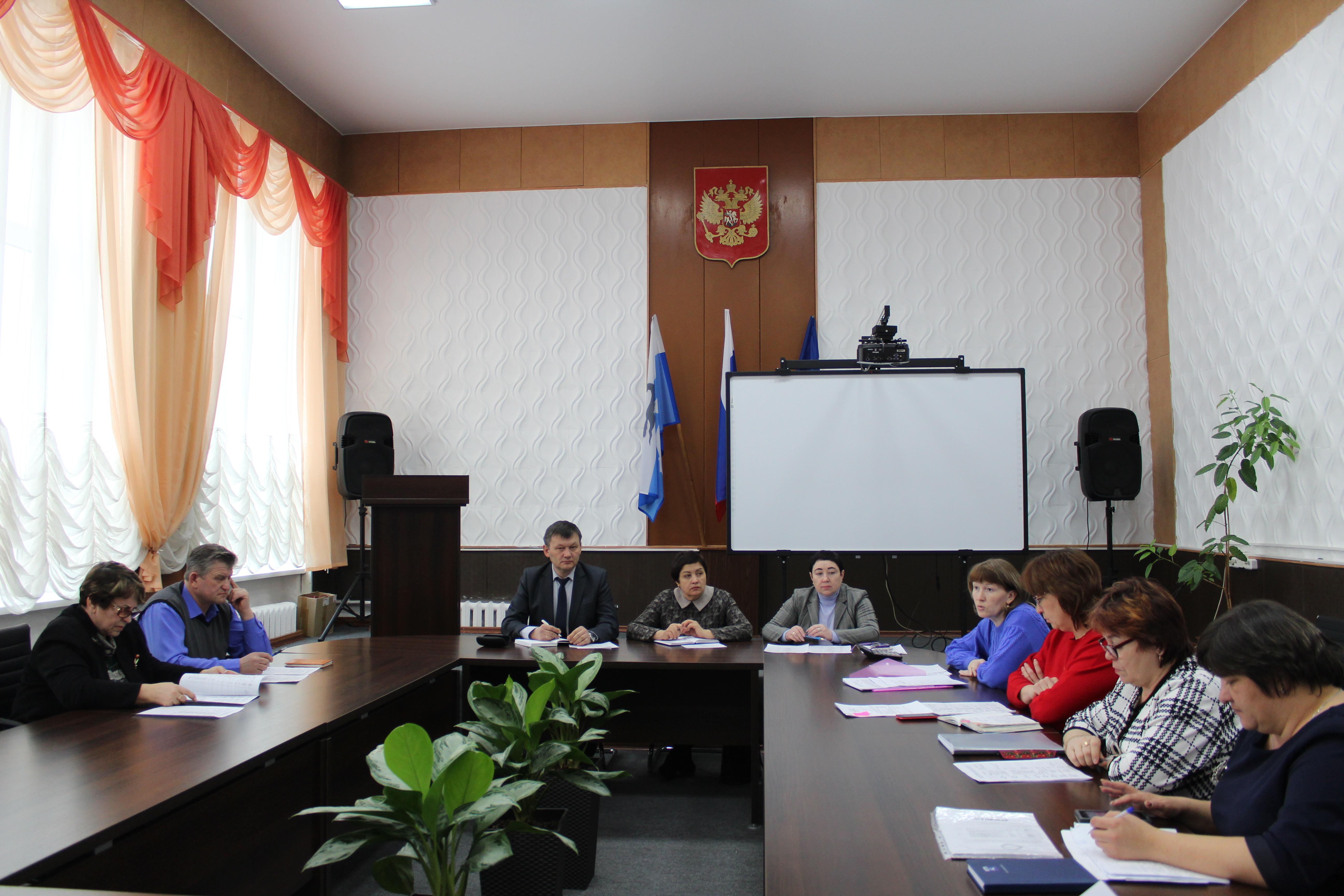 Заседание Думы муниципального района «Качугский район»