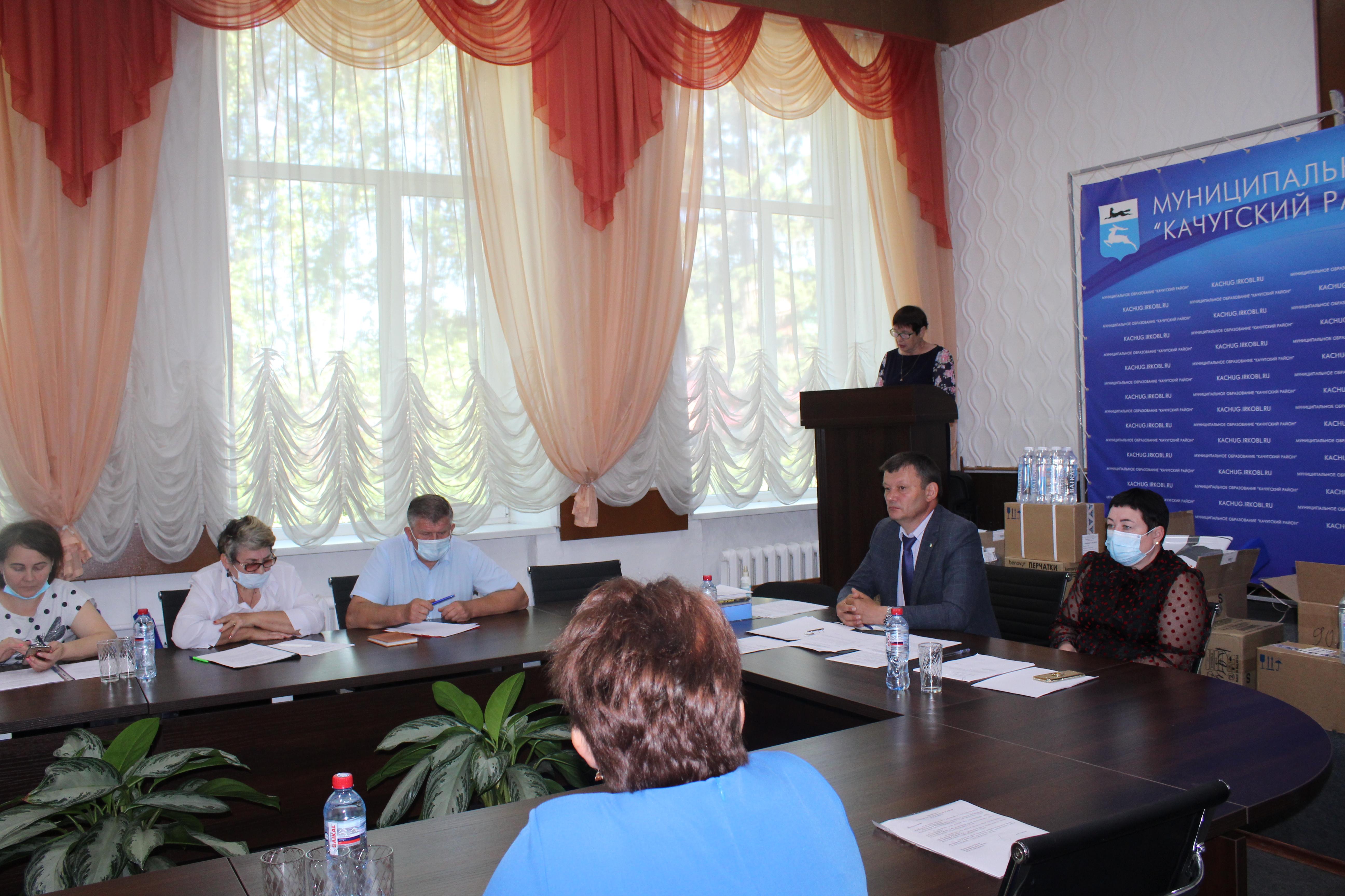 22 июня 2020 года в администрации Качугского района прошло заседание Думы муниципального района