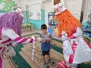 Награждение Серёжи Литвиненко в детском саду Чебурашка