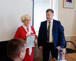 Награда Губернатора –Красному Кресту