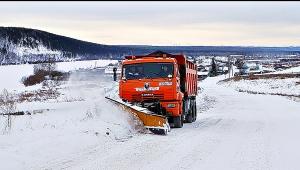 20.12.2017 Последствия снегопада в Черемховском районе устраняет ДСИО