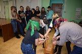 бурятская игра  в Седановской библиотеке