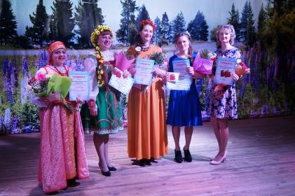 В Тайшетском районе прошел конкурс «Русская краса»