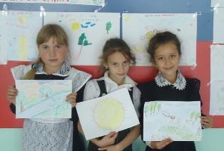 Экологический урок в школах района