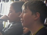 Читатели Невонской сельской библиотеки на театрализованном представлении «Журнальная карусель»