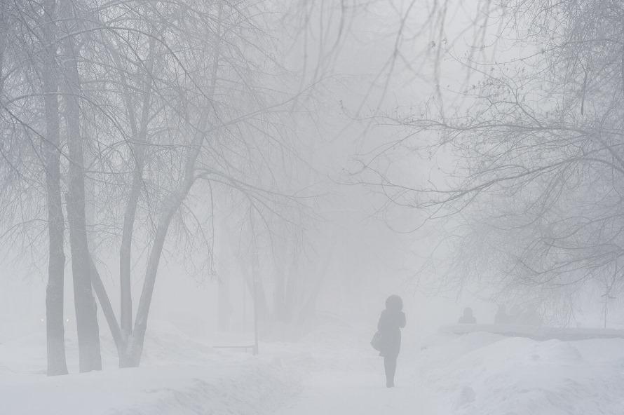 В район пришли аномальные морозы