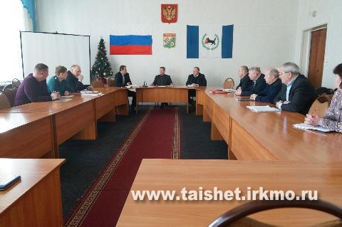 Мэр района Александр Величко провёл экстренное заседание КЧС по факту отсутствия тепла в рабочем поселке Юрты