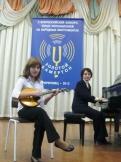 Бащечкина Кристина  на V Всероссийском конкурсе исполнителей на народных инструментах Золотой камертон г.Череповец
