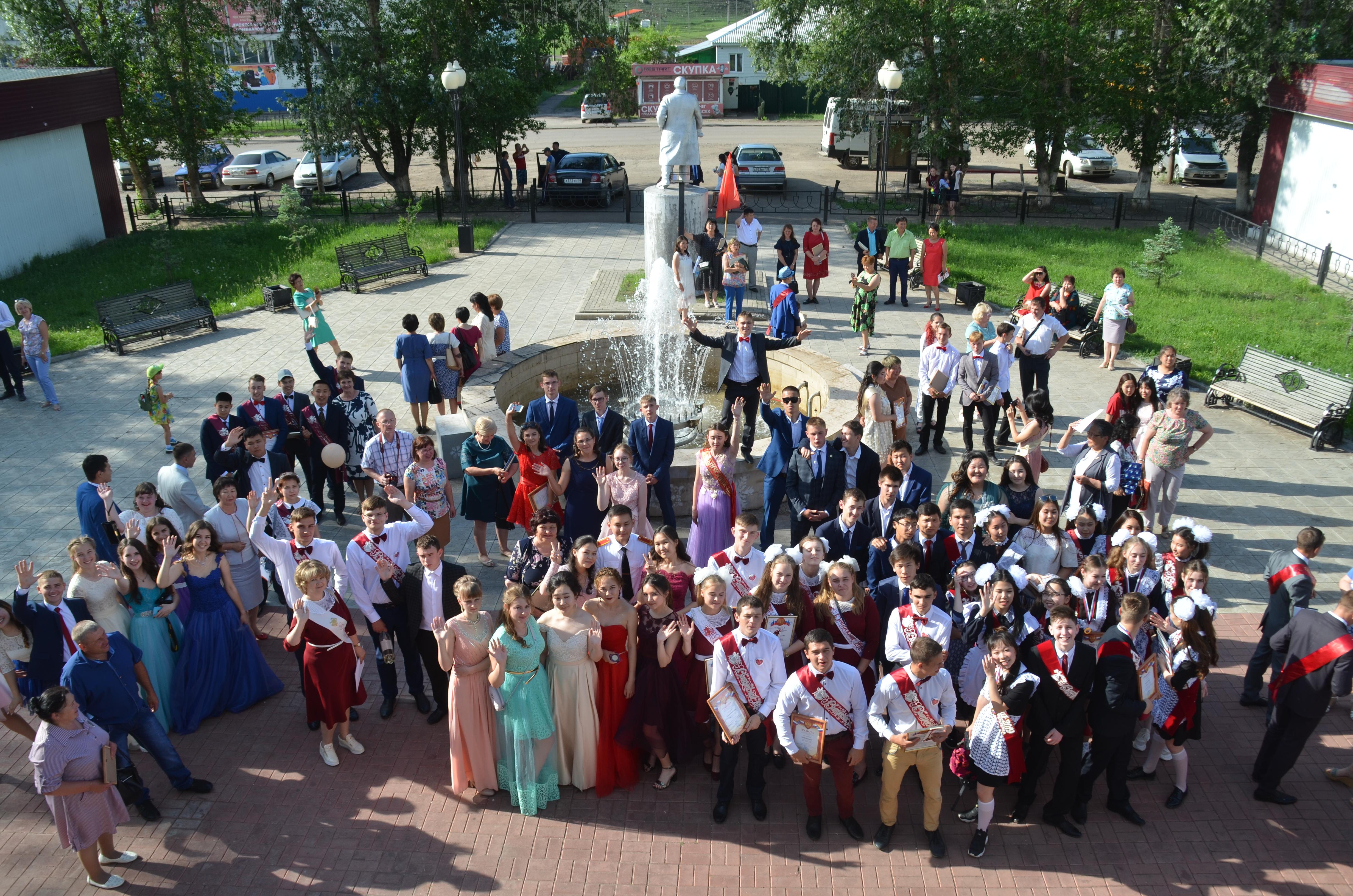 Районный выпускной бал – 2019, «Праздник уходящего детства»