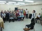 Кривушкина Елизавета готовится к выступлению