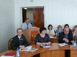 Ежегодный отчет мэра Тайшетского района В.Н.Кириченко перед населением
