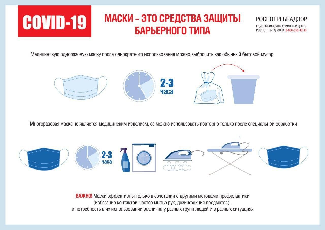 Напоминаем о действующем обязательном масочном режиме в Иркутской области!