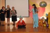 выступление команды «Библиоша» Бадарминского муниципального образования
