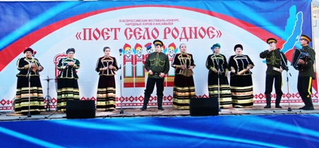 Всероссийский конкурс «Поет село родное» прошел на берегу Байкала