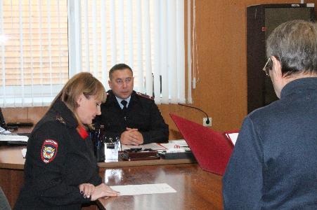 В отделе полиции МО МВД России «Боханский» прошла церемония принесения присяги граждан Российской Федерации