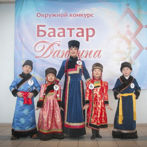 Окружной конкурс Баатар - Дангина - 2019