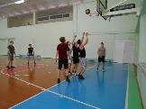 соревнования по баскетболу п. Эдучанка