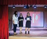 Вручение благодарсвенных писем, дипломов участников