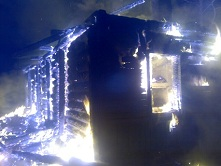В декабре 2014 года на пожаре погибли люди.