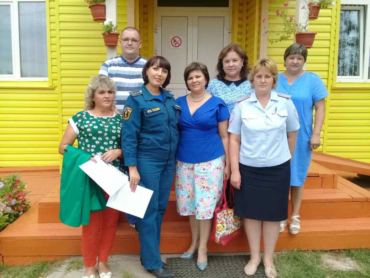 Завершена Приёмка образовательных организаций Качугского района.