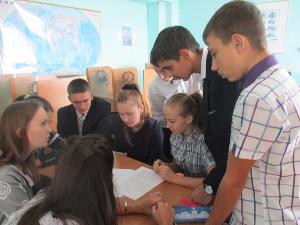 С сессии районного детского парламента