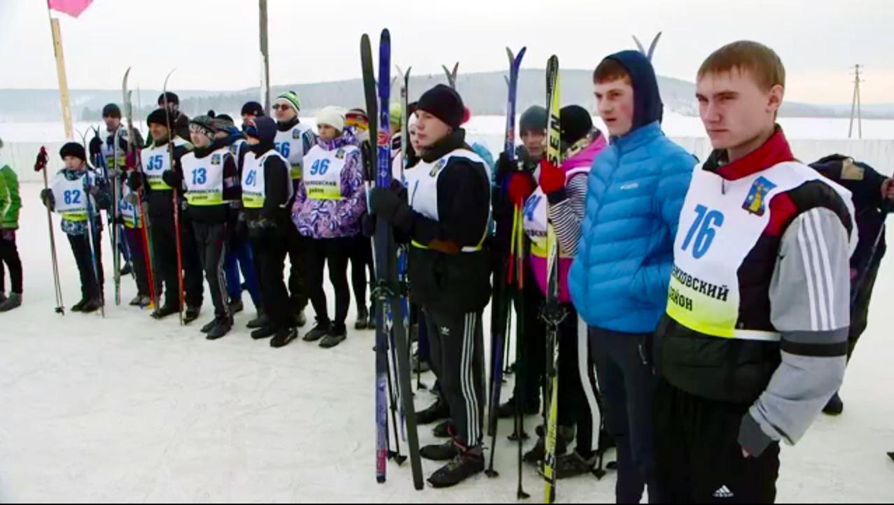 07.02.2016 Соревнования по лыжам, село Голуметь