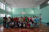 Участницы первенства Усть-Илимского района по волйболу