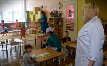 В детских садах  района работают 30 дежурных групп