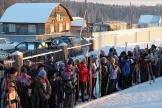 Церемония открытия лыжного сезона