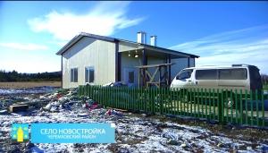 27.11.2017 В селе Новостройка завершается строительство нового ФАПа