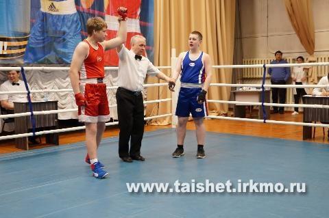В Тайшете прошёл областной турнир по боксу в честь Дня Победы